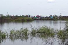 В Свердловской области паводок уходит