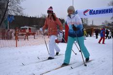 Средний Урал присоединился к Всероссийской массовой гонке «Лыжня России» (фото)