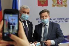 Свердловский избирком зарегистрировал Виталий Крупина депутатом Заксобрания региона