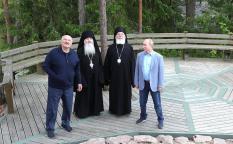 Путин и Лукашенко посетили Валаам