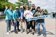 В Екатеринбург прибыли первые иностранные болельщики (фото)