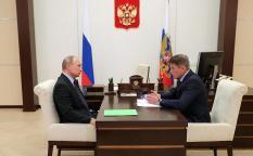 Путин предложил главе Сахалинской области возглавить Приморье