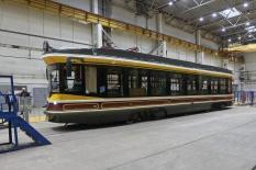 Уралтрансмаш презентовал ретро-трамвай (фото)