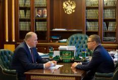 Текслер доложил Цуканову о перевыполнении годового плана по нацпроекту «Жилье и городская среда»