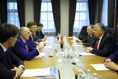 Челябинская область и Евразийский банк развития договорились о сотрудничестве по крупным инвестпроектам