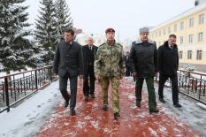 Глава Росгвардии проверил безопасность «Екатеринбург Арены»