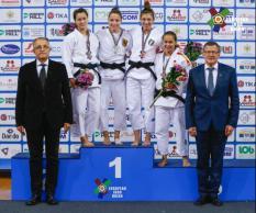 Уральская дзюдоистка завоевала серебро на чемпионате Европы