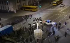 После выборов в Беларуси начались столкновения и протесты