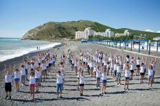 Школьники Зауралья вернулись со спортивной смены из Всероссийского детского центра «Смена»