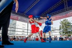 Екатеринбург и Челябинск сошлись на боксерском ринге (фото)
