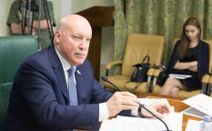 Дмитрий Мезенцев официально покинул Совет Федерации