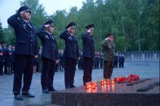 Свердловские полицейские приняли участие в акции «Завтра была война» (фото)