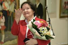 Художница Костина отметила 50-летие работы в архитектурной академии (фото)
