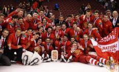 Молодежная сборная России по хоккею стала бронзовым призером Чемпионата мира