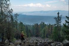 Пожар на территории заповедника «Денежкин Камень» полностью ликвидирован