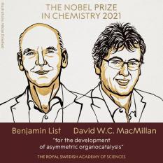 Нобелевский комитет назвал победителей Нобелевской премии по химии
