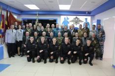 Воины-интернационалисты посетили музей свердловского гарнизона полиции (фото)