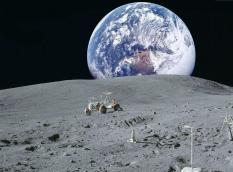 В «Роскосмосе» рассказали о создании окололунной станции