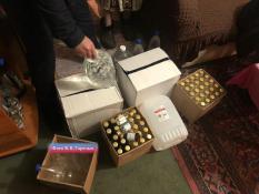 В Свердловской области полиция изъяла 12.5 тонн контрафактного алкоголя