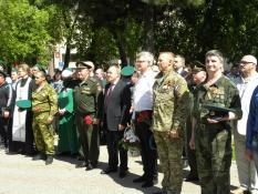 Памятник пограничникам заложили в Екатеринбурге