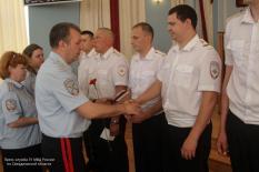 Уральских полицейских наградили за спасение людей из огня и задержание ритуального маньяка