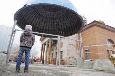 Новый купол и шпиль: как проходит реставрация Успенского собора в Екатеринбурге