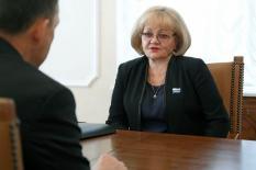 Председатель Заксобрания Свердловской области Людмила Бабушкина празднует 70-летний юбилей