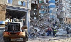 В Магнитогорске демонтировали стену дома, где произошел взрыв газа