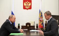 Путин принял отставку главы Астраханской области