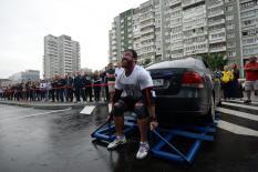 Атлеты борются за звание самого сильного человека в России