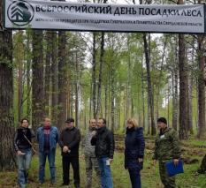В Екатеринбурге высадили 2023 дерева в поддержку заявки на Универсиаду (фото)
