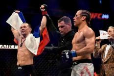Уральский боец нокаутировал американца в турнире UFC