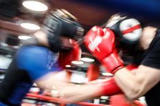 Сборная России по боксу провела первую тренировку в уральской столице (фото)