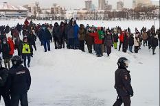 Протесты на фоне уральского климата, в том числе политического