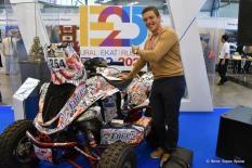 Сергей Карякин попал в аварию в ходе седьмого этапа ралли «Дакар»