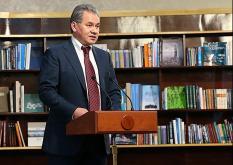 Сергей Шойгу проверяет выполнение гособоронзаказа на уральских предприятиях