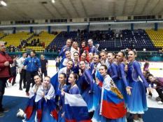 Уральские синхронистки стали лучшими на международном турнире в Хорватии