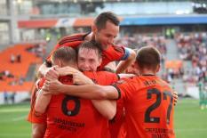 «Урал» возглавил турнирную таблицу Чемпионата России