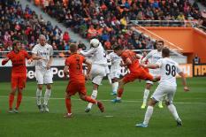«Урал» и «Краснодар» забили шесть голов на двоих