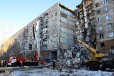 В Магнитогорске приступили к демонтажу подъезда, разрушенного при взрыве
