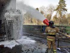 В Городской больнице Челябинска произошел крупный пожар (фото)