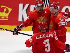 Россия вышла в полуфинал Чемпионата мира по хоккею
