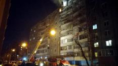 В Челябинске во время пожара мужчина выпрыгнул с 9 этажа и остался жив
