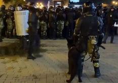 Один человек погиб в ходе столкновений в Минске