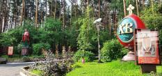 В Екатеринбурге появилась шестиметровая фигура святого целителя Пантелеимона