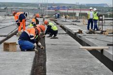 Строительство ЕКАД выходит на финишную «кольцевую» (фото)