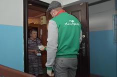 Фоторепортаж об одном дне из жизни свердловских волонтеров в период пандемии