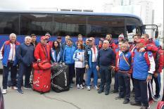 Сборная России по боксу приехала на чемпионат мира в Екатеринбург (фото)