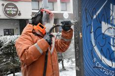 На борьбу с екатеринбургскими вандалами вышел мобильный пескоструйный аппарат (фото)