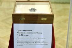 В Свердловском краеведческом музее показали Орден Победы и карту штурма Берлина (фото)